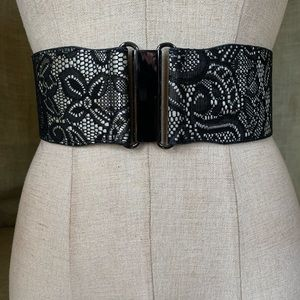 NWOT New York and Co. Wide stretch belt S-Med